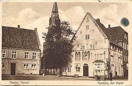 Pays Div : Ref M393- Danemark - Tonder , Torvel   - Carte Bon Etat  - - Danemark