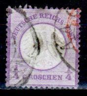 Germania-F415 - Emissione 1872 (o) Used - Scudo Piccolo - Difettoso. - Germania