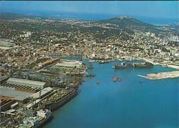 83----LA SEYNE SUR MER--vue Aérienne Du Port--voir 2 Scans - La Seyne-sur-Mer