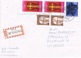 29601. Carta Certificada RAMERBERG (Alemania Federal) 1975 - Briefe U. Dokumente