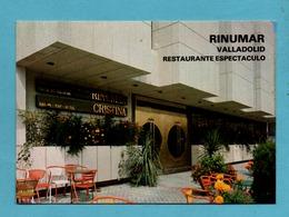 Espagne Espana Castilla Y Leon Valladolid Rinumar Restaurante Espectaculo - Valladolid