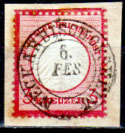 Germania-F416 - Emissione 1872 (o) Used - Scudo Piccolo - Senza Difetti Occulti. - Germania
