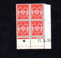 Coins Datés Du 11 8 55 N°12 FM Lot 1688 - Dated Corners