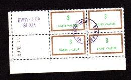 Coins Datés Du 14 10 69 N°184 Fictifs Lot 1710 - Coins Datés