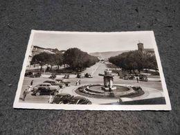 ANTIQUE PHOTO POSTCARD PORTUGAL BRAGA AVENIDA DOS COMBATENTES DA I GUERRA CIRCULATED 1958 - Braga