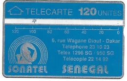 @+ Sénégal - Sonatel 120U - LG N°001A - Ref : SEN-01M-06 - Sénégal
