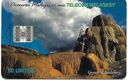 @+ TC De Madagascar : Geyser 50U -  SC7 - 100 000ex ( Ref : MDG-29a) - Madagascar