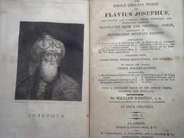 The Whole Genuine Works Of Flavius Josephus - Old Books