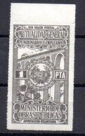 Viñeta Mutualidad De Funcionarios Y Empleados - España