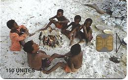 @+ TC De Madagascar : Children Cooking 150U -  OB - 50 000ex ( Ref : MDG-36) - Madagascar