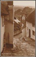 The Church Steps, Minehead, Somerset, C.1920 - Judges RP Postcard - Minehead