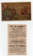 CHROMO Chocolat Des Gourmets Trébucien Romanet Le Cid Théâtre - Chocolat