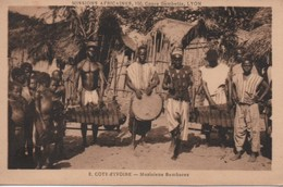 2 MUSICIENS  BAMBARAS - Ivory Coast