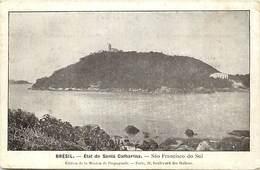 Pays Div : Ref M367- Bresil - Brasil - Etat De Santa Catharina - Sao Francisco Do Sul  - Carte Bon Etat  - - Brésil