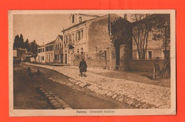 Tirana Albania Shqipëri 1917 Cartolina Viaggiata In Busta Consolato Italiano - Albania
