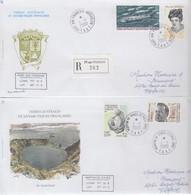 TAAF. 2  LETTRES   / 3 - Französische Süd- Und Antarktisgebiete (TAAF)