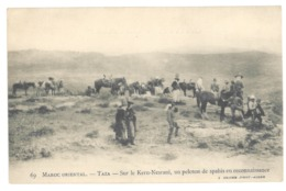 Maroc. Taza. Sur Le Kern Nesrani, Peloton De Spahis En Reconnaissance (A4p34) - Other