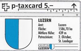 PTT P: KP-93/78C11 309L Kanton Luzern, Amt Luzern, Luzern - Schweiz