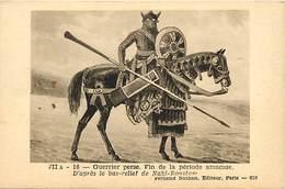 Pays Div : Ref M357- Guerrier Perse -fin De La Periode Arsacide  - Carte Bon Etat - - Iran