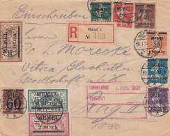 Deutsches Reich Memel R Brief 1921 - Klaipeda