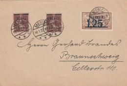 Deutsches Reich Memel Brief 1922 - Klaipeda
