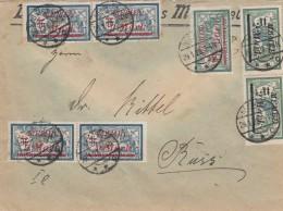 Deutsches Reich Memel Brief 1923 - Klaipeda