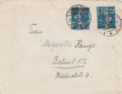 Deutsches Reich Memel Brief 1920 - Klaipeda