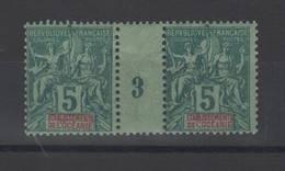 Océanie  établissement  _  1  Millésimes 1893  N°4 - Oceanië (1892-1958)
