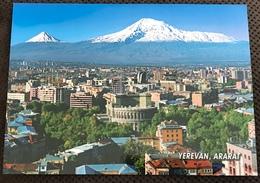 1 Neue AK Armenien Die Dtadt Yerevan Und Im Hinterhrund Der Berg Ararat 5165 Meter - Armenia
