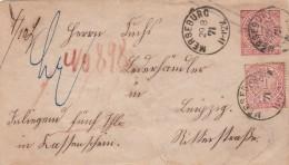 AD Nord Deutscher Postbezirk Umschlag 1871 - Norddeutscher Postbezirk