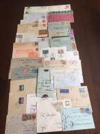 ++++++ Sammlung Mit 100+ Postkarten, Briefe Mit Propaganda / Sonderstempel / Zugstempel / INFLA +++++ - Timbres