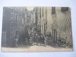 QUILLAN-BRENAC (11) : La Grande-Rue - France