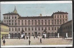 PIEMONTE - TORINO - PALAZZO REALE -ANIMATA - FORMATO PICCOLO COLORATA - VIAGGIATA 1915 - Palazzo Reale