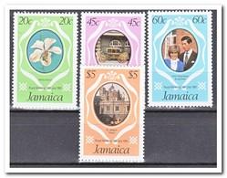 Jamaica 1981, Postfris MNH, Wedding Charles And Diana, Flowers - Jamaica (1962-...)