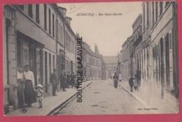 62 - AUDRUICQ---Rue Saint Martin--commerces   Animé - Audruicq