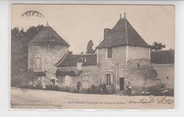 A850 /   MONETEAU    /  Les Restes Du Château COLBERT  , Animée - Moneteau