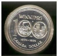 CANADA DOLLAR Nickel 100 Ans Winnipeg Sous Capsule TTB 1 - Canada