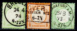Germania-F419 - Emissione 1872 (o) Used - Scudo Grande - Senza Difetti Occulti. - Germania