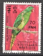 1977   Perroquet Vert    Surcharge  De Paris   70 FNH  Oblitéré - Oblitérés