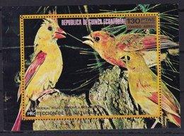 Equatorial Guinea 1976 Birds In North America Perf. Sheet Mi.B250 MNH LOT.007 - Equatorial Guinea