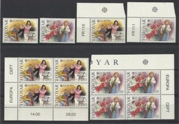 1985 FAR OER Faroe EUROPA CEPT EUROPE 6 Serie Di 2v. MNH** - Europa-CEPT