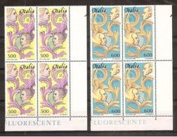 1985 Italia Italy Repubblica EUROPA CEPT EUROPE 4 Serie Di 2v. MNH** Quartina Bl.4 - Europa-CEPT