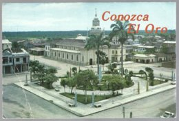 CP  Foto: Oswaldo Zaldumbide- Santa Rosa-El Oro,Ecuador, Bolivar Park,Matriz Church . Non Circulé - Ecuador