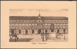 Palazzo Reale, Napoli, Campania, C.1910s - Zedda Cartolina - Napoli (Naples)