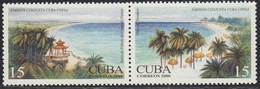 Cuba 2000 - 40th Anniv. Of The Cuba-China Diplomatic Relations - Joint Issue With China: Beaches - Mi 4312-4313 ** MNH - Cuba