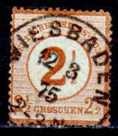 Germania-F421 - Emissione 1874 (o) Used - Senza Difetti Occulti. - Germania