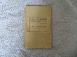"CARTE ALLEMAGNE GIRARD & BARRERE JUIN 1943 - Série "" Les Nations ""  1/ 1.500.000° VOIR SCANS - Geographical Maps"