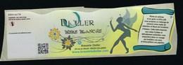 """Etiquette Biere Blanche Dioller  Brasserie Dioller  Dolleren 68 """"fée, Femme"""" - Beer"""