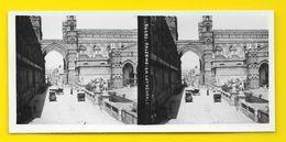 Vues Stéréos PALERME La Cathédrale Italie - Photos Stéréoscopiques