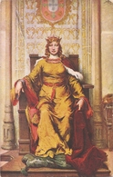 RAINHA D.LEONOR DE LENCASTRE - Portugal